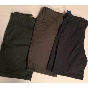 Old Navy Arizona Twill Shorts Bundle Size 12 Slim